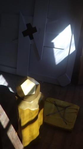 dodécaèdre, géometrie, nombre d'or, malevitch